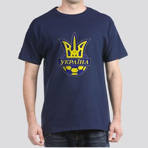 Dark T-Shirt Ukrainian Futbol, football