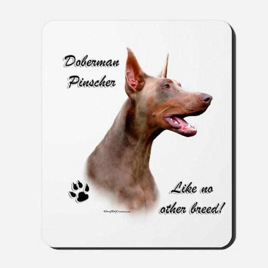 Dobie Breed Mousepad