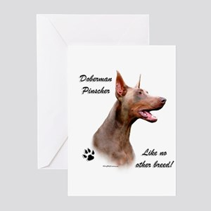 Dobie Breed Greeting Cards (Pk of 10)