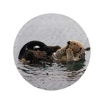 California Sea Otter 3.5&Quot; Button (100 Pack)