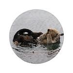 California Sea Otter 3.5&Quot; Button (100 Pack)