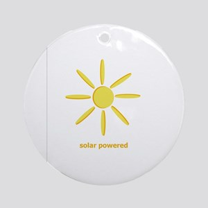 Solar Powered Ornament (Round)