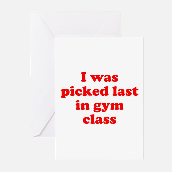Gym Class Greeting Cards (Pk of 10)