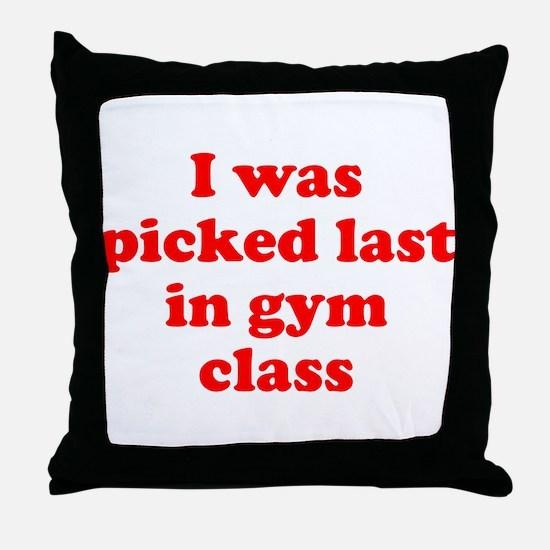 Gym Class Throw Pillow