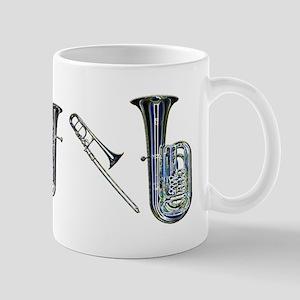 Band Instruments Mug