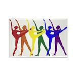 Dancers Magnet