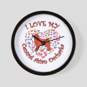 Love CAO Wall Clock