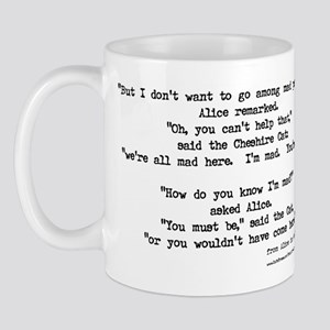 """""""Mad"""" Quote ONLY -  Mug"""