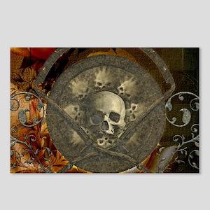 Awesome, creepy skulls, vintage design Postcards (