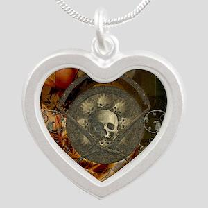 Awesome, creepy skulls, vintage design Necklaces