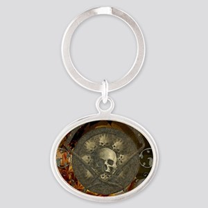Awesome, creepy skulls, vintage design Keychains