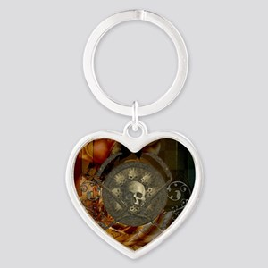 Awesome, creepy skulls, vintage design Keychains