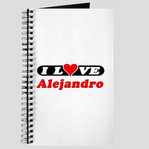 I Love Alejandro Journal