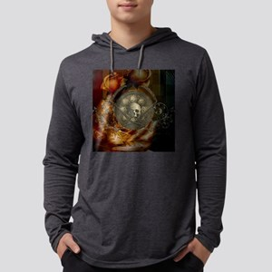 Awesome, creepy skulls, vintage design Long Sleeve