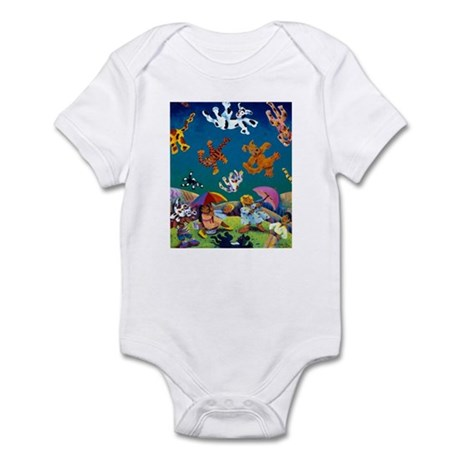 'Raining Cats & Dogs!' Infant Bodysuit