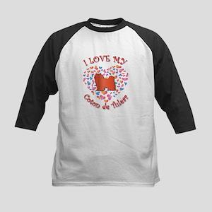 Love Coton Kids Baseball Jersey