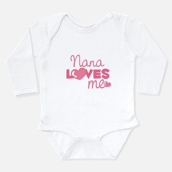 Nana Love Me (pink) Infant Bodysuit Body Suit