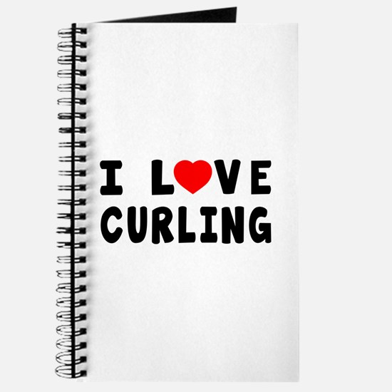 I Love Curling Journal