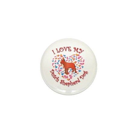 Love Shepherd Mini Button (10 pack)