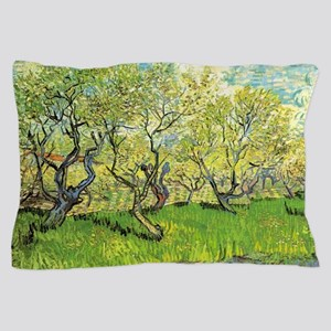 Orchard in Blossom, post impressionism fine art by