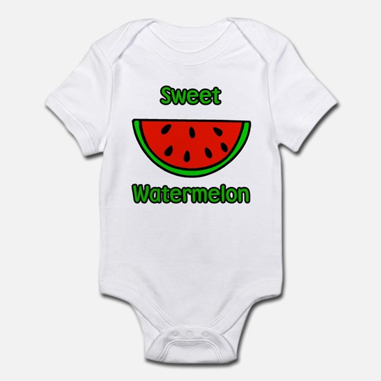 Sweet Watermelon Infant Bodysuit