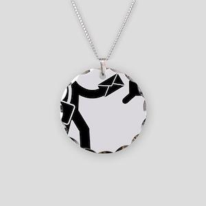 Mailman-AAA1 Necklace Circle Charm