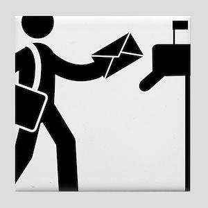 Mailman-AAA1 Tile Coaster