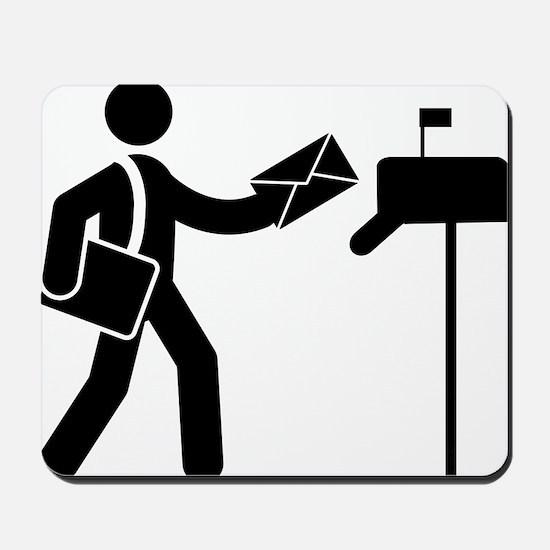 Mailman-AAA1 Mousepad
