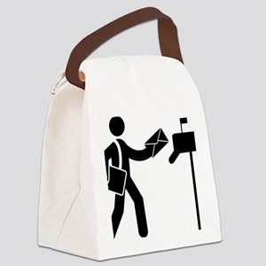 Mailman-AAA1 Canvas Lunch Bag