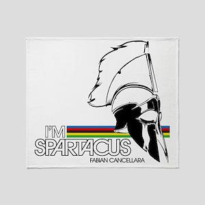 I'm Spartacus - Fabian Cancellara Throw Blanket