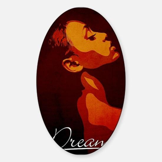 Dream Sticker (Oval)