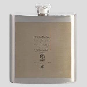 Folio-KingLear Flask