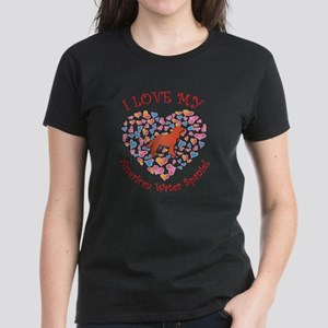 Love Spaniel Women's Dark T-Shirt
