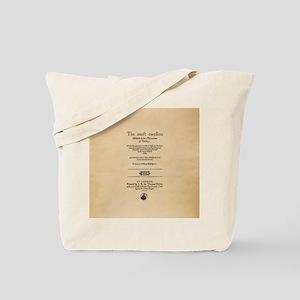 Folio-MerchantofVenice Tote Bag