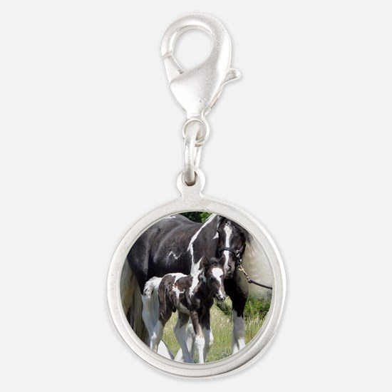 Champion Gypsy mare and colt Silver Round Charm