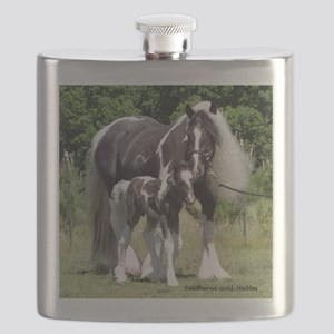 Champion Gypsy mare and colt Flask