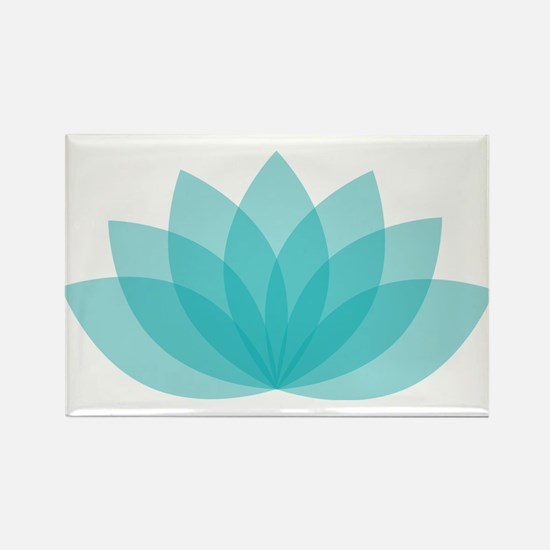 Lotus Blossom Magnets