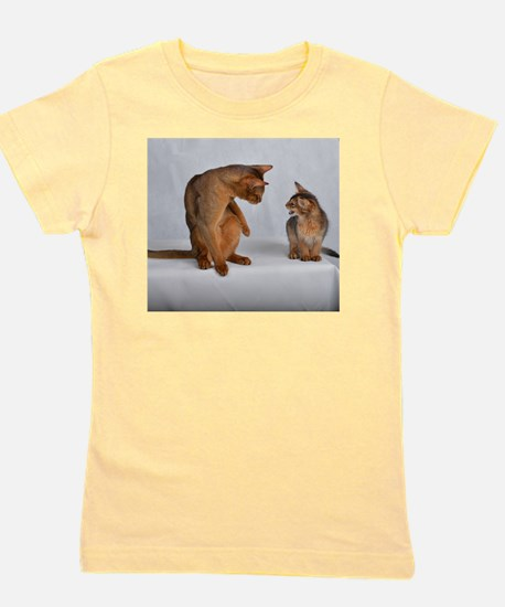 aby and somali Girl's Tee