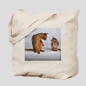 aby and somali Tote Bag