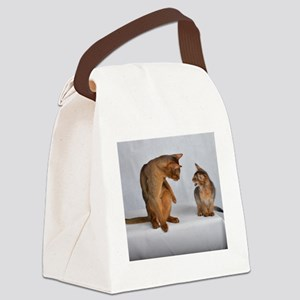 aby and somali Canvas Lunch Bag