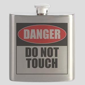 Danger, Do not touch Flask