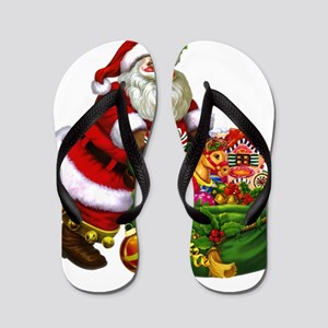Santa Claus! Flip Flops