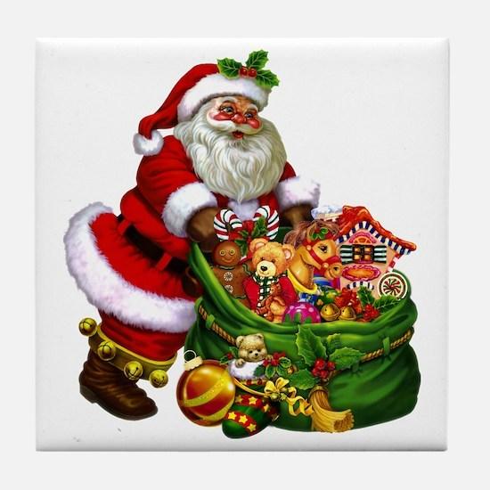 Santa Claus! Tile Coaster