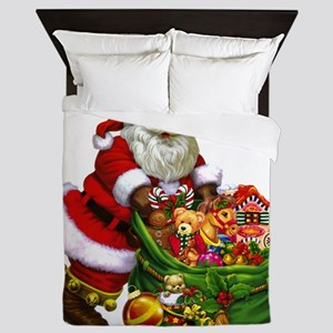 Santa Claus! Queen Duvet