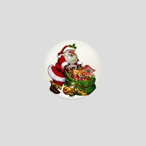 Santa Claus! Mini Button