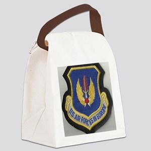 United Air Forces in Europe Canvas Lunch Bag