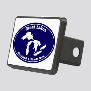 GREAT LAKES SHARK FREE Rectangular Hitch Cover