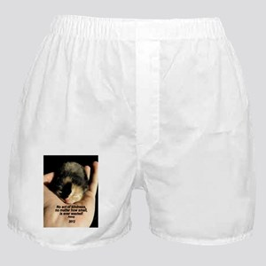 ORNAMENT (Oval) - ...Kindness Boxer Shorts