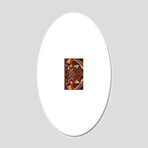 samsung Galaxy S3 case 20x12 Oval Wall Decal