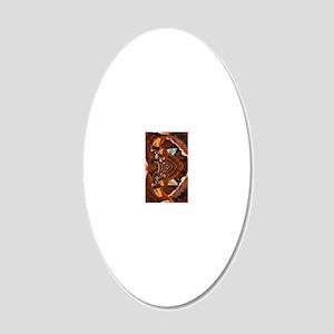 Kindle Hard Case Kickstand 20x12 Oval Wall Decal